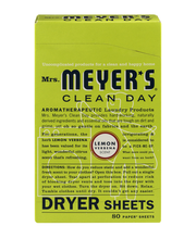Mrs. Meyer's Clean Day Dryer Sheets Lemon Verbena - 80 CT