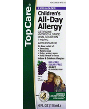 TOPCARE CHILD ALLERGY LIQ GRAPE