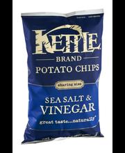 Kettle Brand® Sea Salt & Vinegar Potato Chips 8.5 oz. Bag