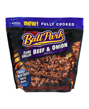 Ball Park Flame Grilled Beef & Onion Patty - 6 CT
