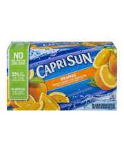 Capri Sun® Orange Juice Drink 10-6 fl. oz. Pouches