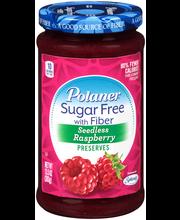 Polaner® Sugar Free with Fiber Seedless Raspberry Preserves 1...