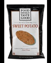Food Should Taste Good™ Sweet Potato Tortilla Chips 5.5 oz. Bag