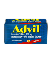 Advil® Pain Reliever/Fever Reducer (Ibuprofen) 200mg Tablets ...