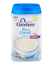 Gerber Single-Grain Rice Baby Cereal, 16 oz