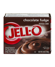 Jell-O® Chocolate Fudge Instant Pudding & Pie Filling Mix 3.9...