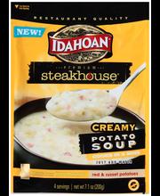 Idahoan® Premium Steakhouse® Creamy Potato Soup 7.1 oz. Pouch