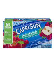 Capri Sun® Mountain Cooler Juice Drink 10-6 fl. oz. Pouches
