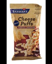 Barbara's® Baked White Cheddar Cheese Puffs 5.5 oz. Bag