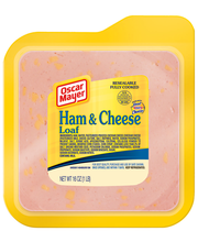 Oscar Mayer Ham & Cheese Loaf Cold Cuts 16 oz. Pack