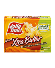 Jolly Time® Xtra Butter Microwave Pop Corn 3-3 oz. Bags