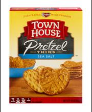 Town House® Flip Sides Sea Salt Pretzel Thins 10 oz. Box