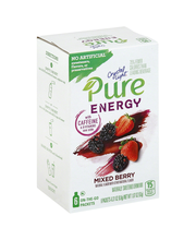 Crystal Light Pure Energy On the Go Mixed Berry Drink Mix 6 c...