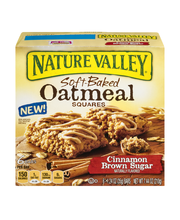 Nature Valley Soft-Baked Oatmeal Squares Cinnamon Brown Sugar...