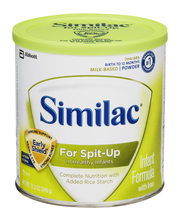 Similac® For Spit Up Infant Formula with Iron 12 oz. Canister