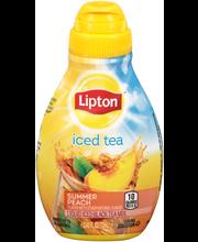 Lipton™ Summer Peach Liquid Iced Tea Mix 2.43 fl. oz. Bottle