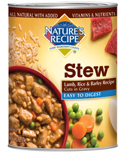Nature's Recipe® Easy to Digest Lamb, Rice & Barley Recipe Cu...