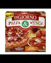 DIGIORNO Three Meat Pizza & Honey BBQ Boneless Wyngz 33.4 oz....