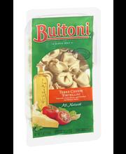 BUITONI Refrigerated Three Cheese Tortellini Pasta no GMO Ing...