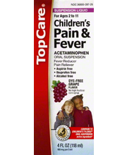 TOPCARE CHILD PAIN/FVR LIQ GRP