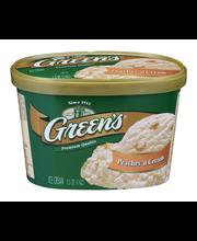 Green's Ice Cream Peaches 'n Cream