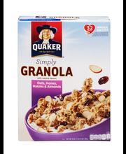 Quaker® Simply Granola Cereal 28 oz. Box