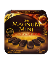 Magnum® Mini Double Chocolate Ice Cream Bars 6 ct Box