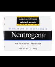 Neutrogena® Original Formula Fragrance Free Facial Bar 3.5 Oz...