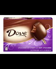 Dove Dark Chocolate Ice Cream Bars - 3 CT