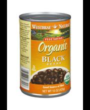 Westbrae Natural Vegetarian Organic Black Beans