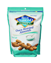 Blue Diamond® Natural Sea Salt Oven Roasted Almonds 16 oz.