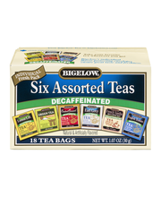 Bigelow® Decaffeinated Assorted Teas 18 ct Box