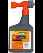 Off!® Bug Control Backyard Pretreat Insecticide 32 fl. oz. Sp...