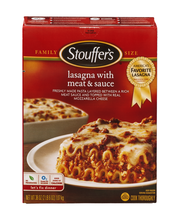 STOUFFER'S Family Size Lasagna with Meat & Sauce 38 oz. Box