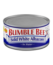 Bumble Bee® Solid White Albacore in Water 12 oz. Can