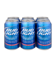 Bud Light® Beer 6-12 fl. oz. Cans