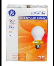 GE Energy Efficient Soft White 29 Watt General Purpose Haloge...