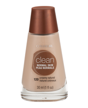 Clean COVERGIRL Clean Makeup Foundation, Creamy Natural 1 fl ...