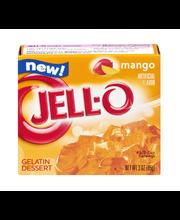 Jell-O® Mango Gelatin Dessert Mix 3 oz. Box