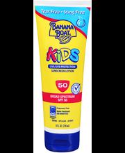 Banana Boat® Kids Broad Spectrum SPF 50 Sunscreen Lotion 8 fl...