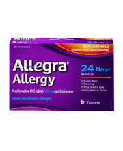 Allegra Allergy 24 Hour Non Drowsy Indoor and Outdoor Allergy...