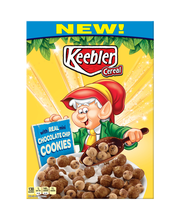 Keebler Cereal™ Chocolate Chip Cookies Cereal 11.2 oz. Box