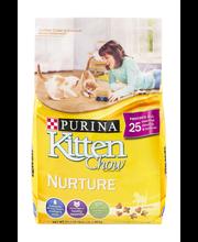 Purina Kitten Chow Nurture Cat Food 3.15 lb. Bag