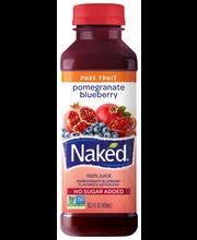 Naked® Juice Pomegranate Blueberry 100% Juice 15.2 fl. oz. Bo...