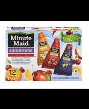 Minute Maid® Juice Bars 12-2.25 fl. oz. PAck