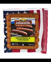 Johnsonville Jalapeno Cheddar Smoked Sausage 14oz zip pkg (10...