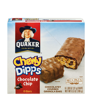 Quaker® Chewy® Dipps® Chocolate Chip Chocolatey Covered Grano...