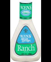 Ken's Steak House® Ranch Dressing 16 fl. oz. Bottle