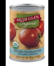 Muir Glen™ Organic Diced No Salt Added Tomatoes 14.5 oz. Can