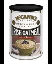 McCann's Quick & Easy Steel Cut Irish Oatmeal